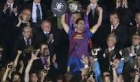 Celebraciones Festejos Barcelona Campeon Copa rey
