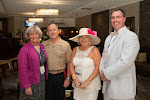 Celebrity Guest Lt. Gen Robert E. Milstead, Sandy Collette, Jason Vaughn
