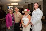 Celebrity Guest Lt. Gen Robert E. Milstead, Sandy Collette, Jason Vaughn