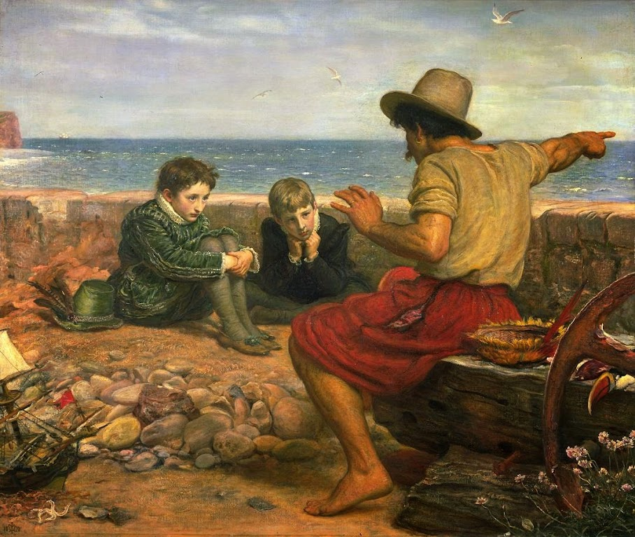 The Boyhood of Raleigh 1870 Sir John Everett Millais