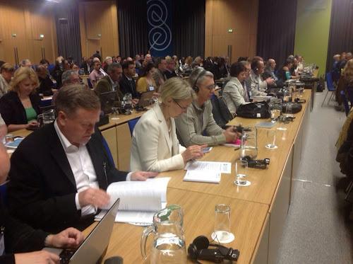 Олег Наливайко - председатель НСЖУ на мировом конгрессе