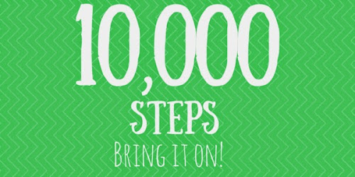 10000 steps in a day