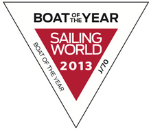 J/70 Sailing World Boat of the Year 2013 Overall