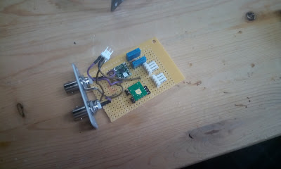 New piezo prototype made by Antonio, using the PDu100