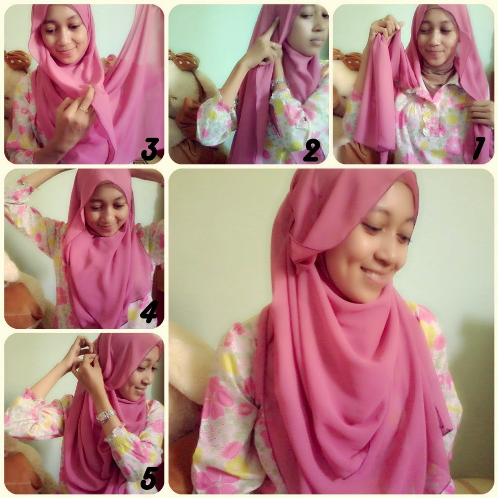Tutorial Hijab Pashmina Simple Tanpa Ninja Updated 2016 Tutorial