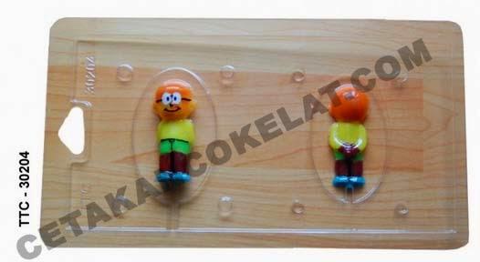 Cetakan Coklat TTC30204 Nobita Doraemon