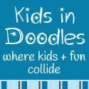 kids in doodles, playschool, halloween, toddlers