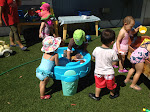 LePort Montessori Preschool Toddler Program Irvine Spectrum - going for a dip outdoors