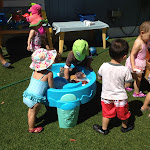 LePort Montessori Preschool Toddler Program Irvine Spectrum - going for a dip outdoors