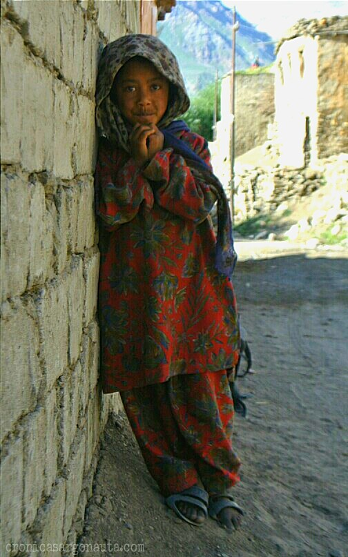 niña de Ladakh