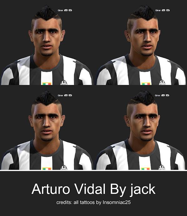 Arturo Vidal Face - PES 2013