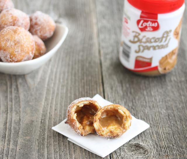 photo of one donut hole
