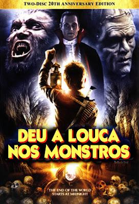 Filme Deu a Louca nos Monstros DVDRip RMVB Dublado