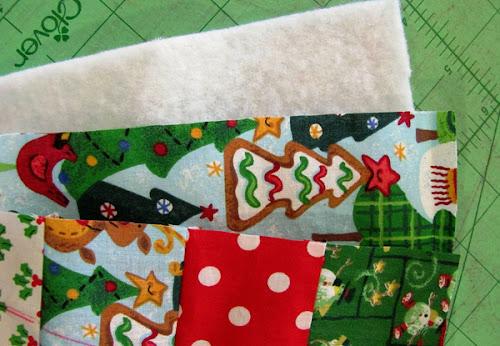corte de tecidos patchwork