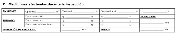 Parte 3 Modelo informe de inspección técnica vehículos