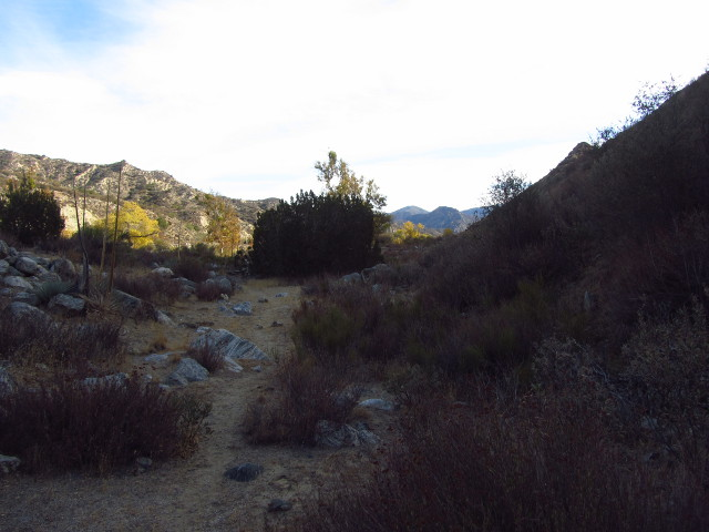 use trail along Piru Creek