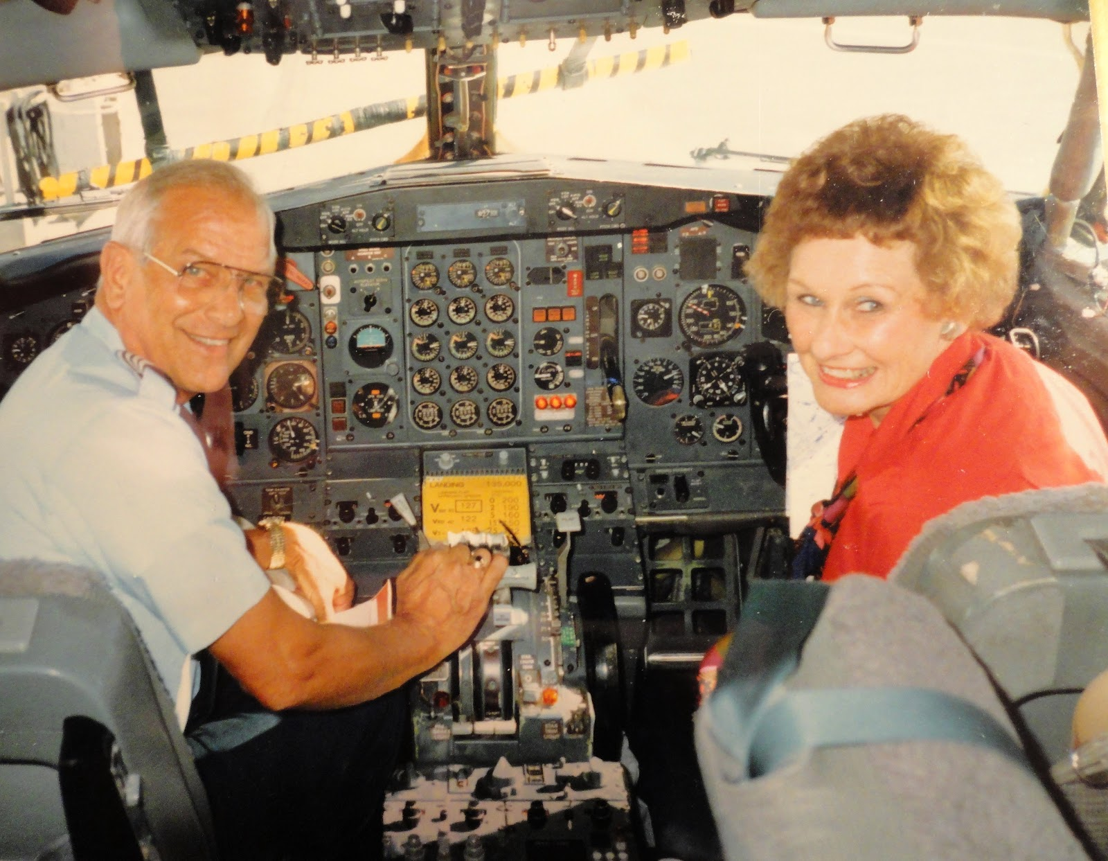 Leonard D. Dolny, RF-80 & F-86 Pilot, Korea, Commercial ...