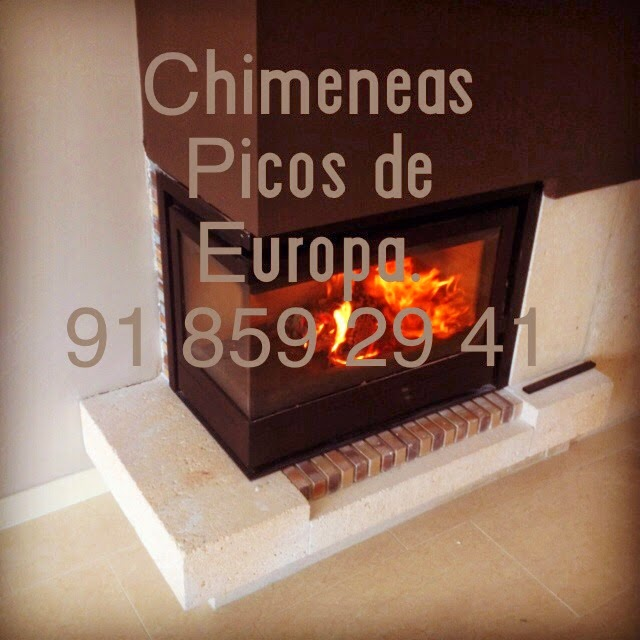 Chimeneas picos de europa cassette chimenea de l nea for Instalacion de chimeneas