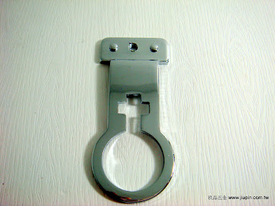 裝潢五金型號:7016-架手鐵管吊片顏色:PC 玖品五金