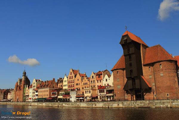 Gdańsk - Słoneczny poranek na  Długim Pobrzeżu