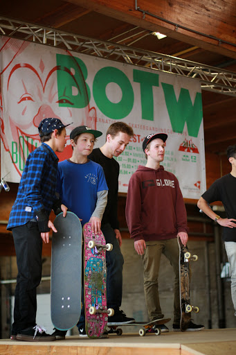 The Best of the West skateboarden Roeselare