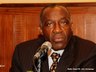 Raymond Tshibanda. Radio Okapi/ Ph. John Bompengo