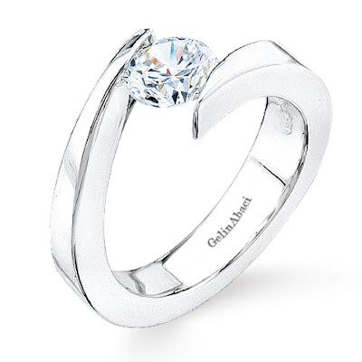 Tension Wedding Ring 29 Cool Tension Setting Ring Gelin