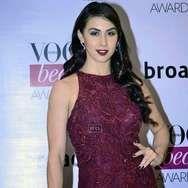 Lauren Gottlieb attends Vogue Beauty Awards 2014, held at Hotel Taj Lands End in Mumbai, on July 22, 2014.(Pic: Viral Bhayani)