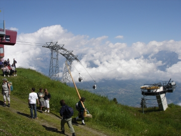 Tracouet (2200 m) Nendaz - Capitale du Cor des Alpes