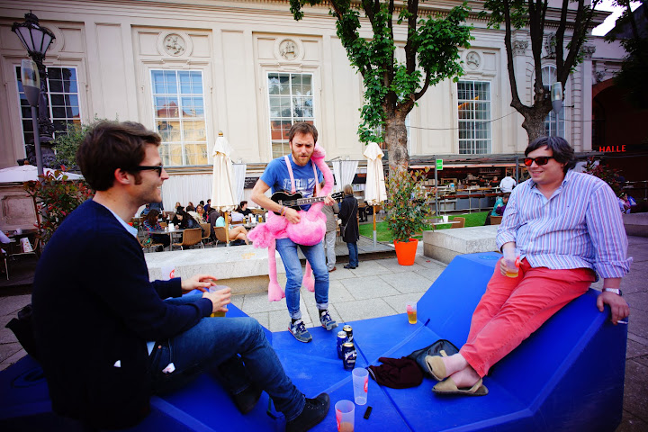hipster bachelor party in Vienna