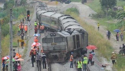 Kereta Api Tergelincir Berhampiran Bukit Mertajam, Tiada Penumpang Cedera