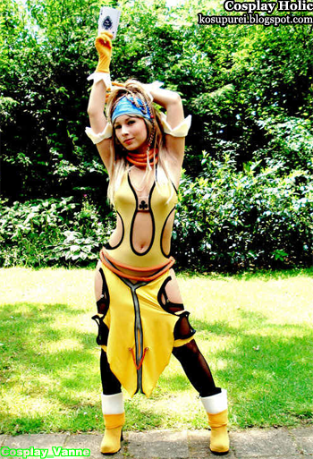 final fantasy x-2 cosplay - rikku 2 by vanne