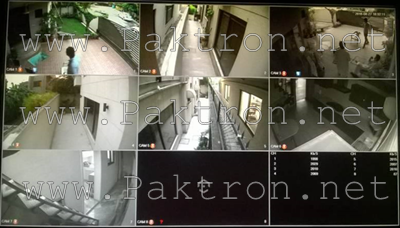 7 Home Security CCTV System Display Paktron Pakistan