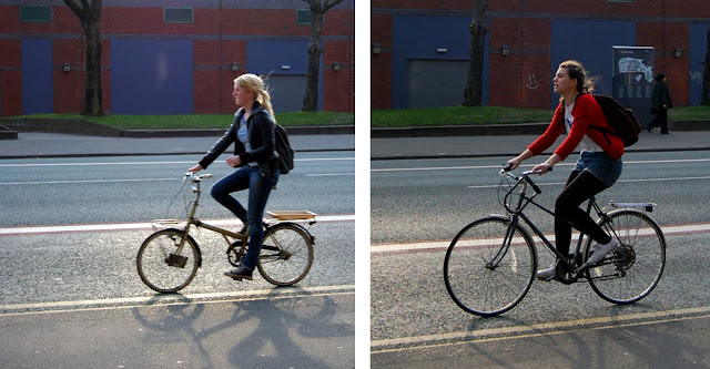 Oxford Road cycle chic