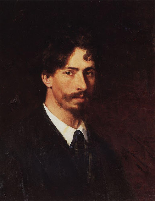 Ilia Repin - Self portrait