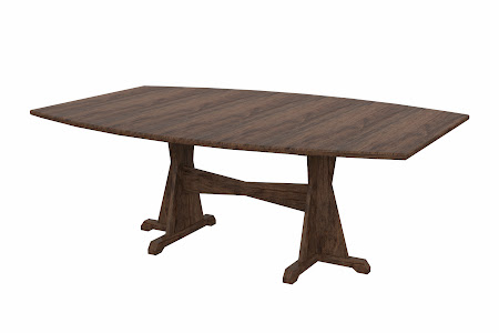 Huntington Conference Table in Weathered Maple