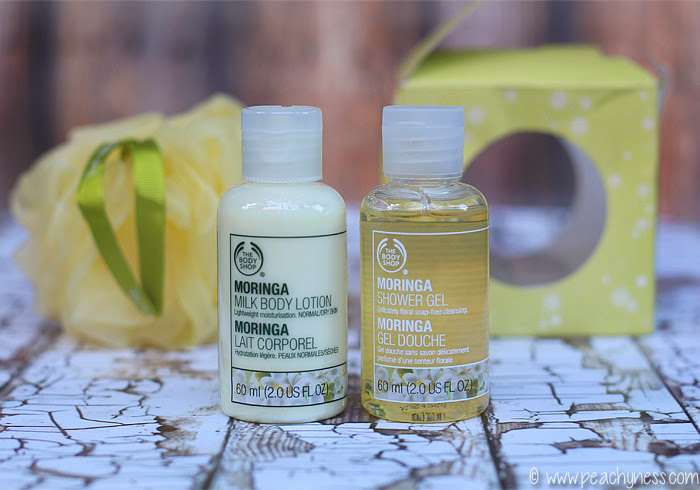 The Body Shop Moringa Line