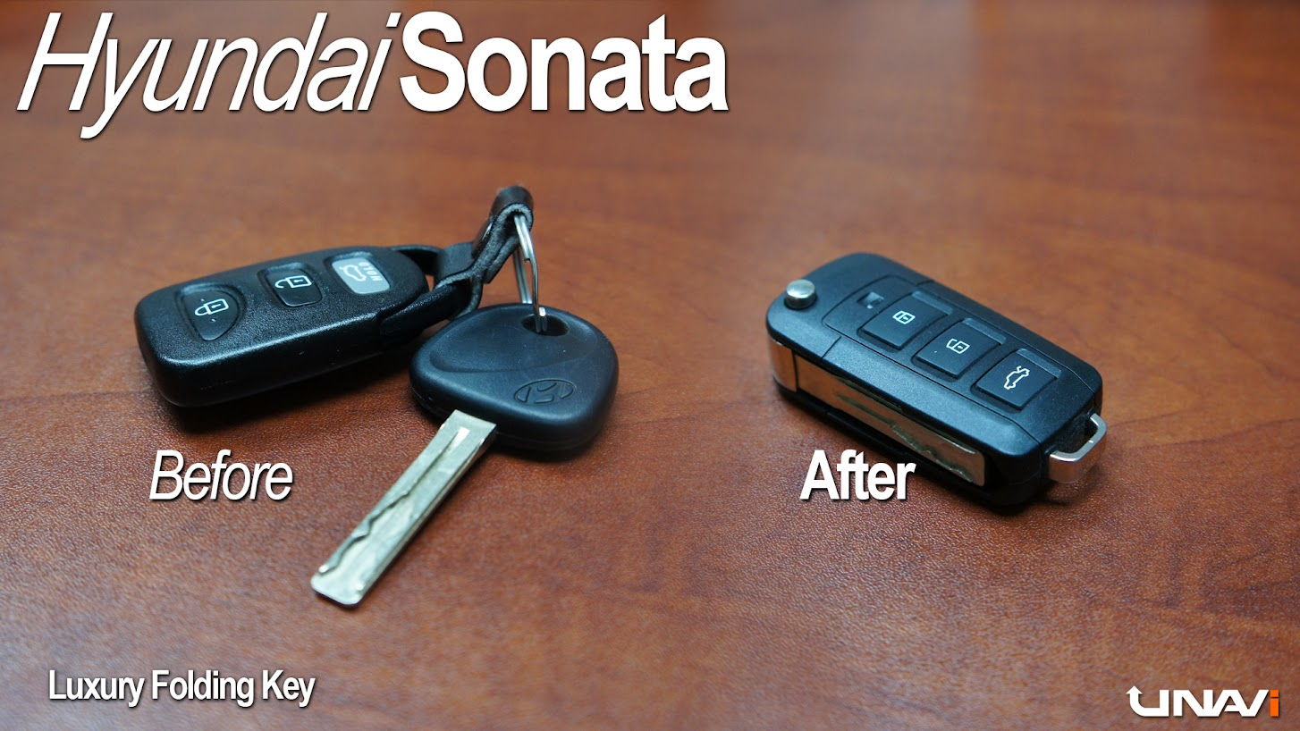 Luxury switchblade remote key fob
