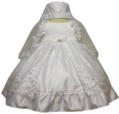 Angel Girl Toddler Christening Baptism Dress Gowns outfit/XS/S/M/L/XL/0-3M/3-6M/6-12M/12-18M/18-24M/XSMALL/SMALL/MEDIUM/LARGE/XL/5442 at Sears.com