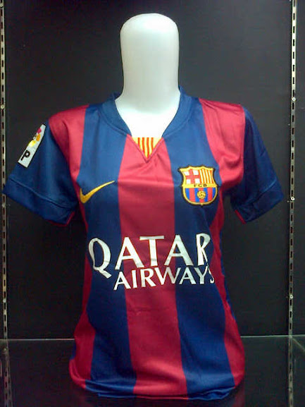 Jersey Ladies Barcelona Home Official 2014-2015