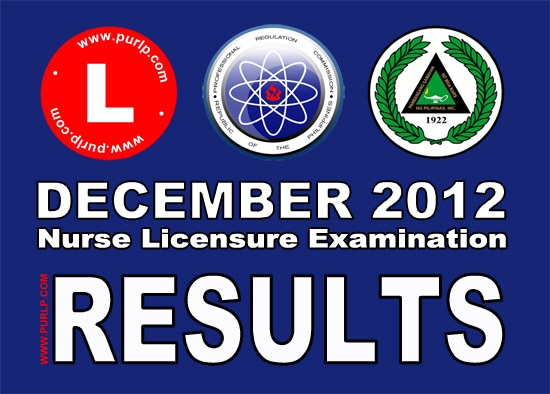 Philippine Nursing Licensure Exam December 2012