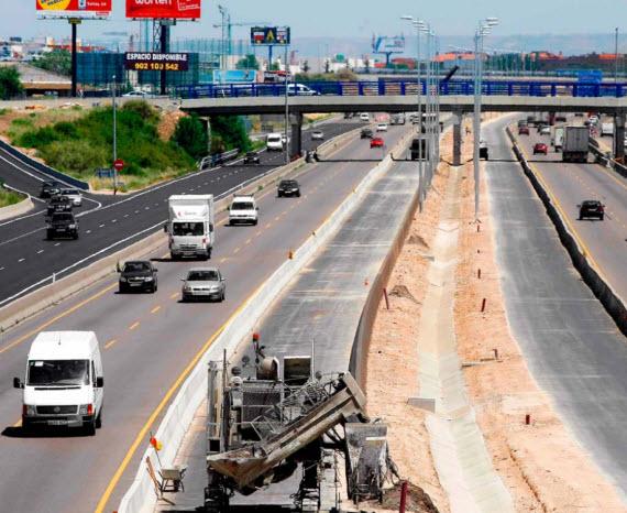 Apertura por fases al tráfico el tercer carril de la variante de Alcalá de Henares