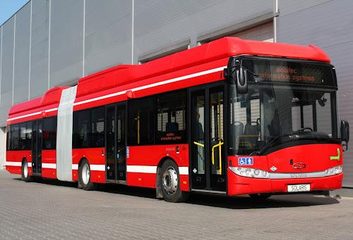 Solaris Urbino 18 CNG - przegubowy autobus zasilany gazem ziemnym