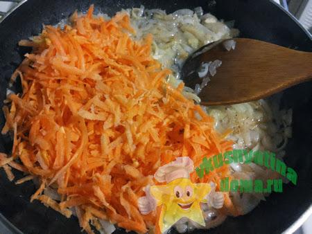 Готовим овощи для перцев