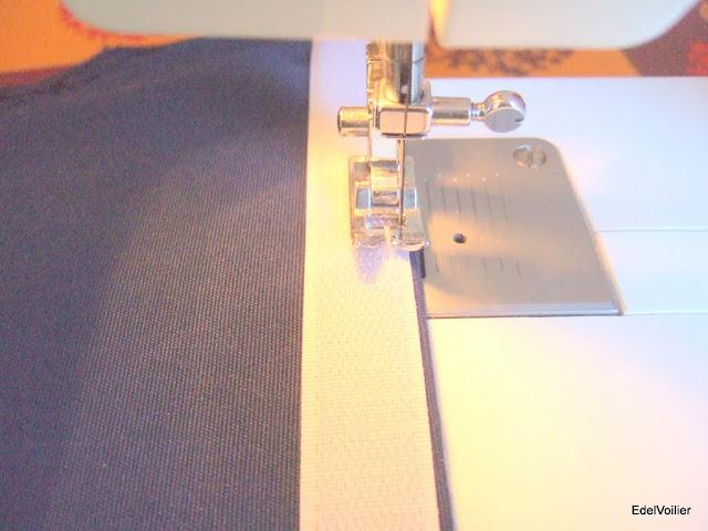 Pose du scratch pour les boudins de filière
