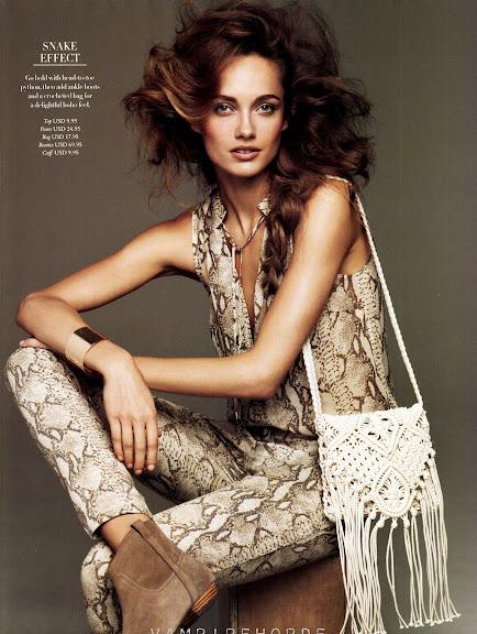 H&M Magazine, spring 2012