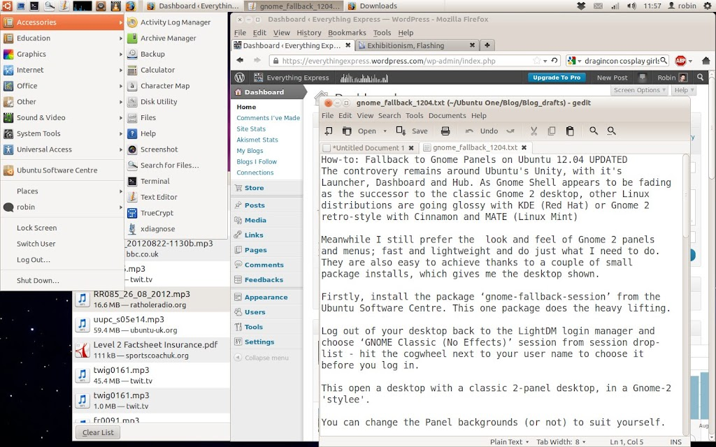 Fallback to Gnome Panels on Ubuntu 12.04 UPDATED
