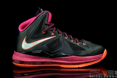 lebron10 floridians 29 web black The Showcase: Nike LeBron X Miami Floridians Throwback
