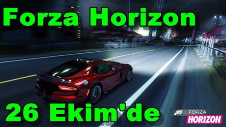 Forza Horizon 26 Ekim'de Çıkıyor
