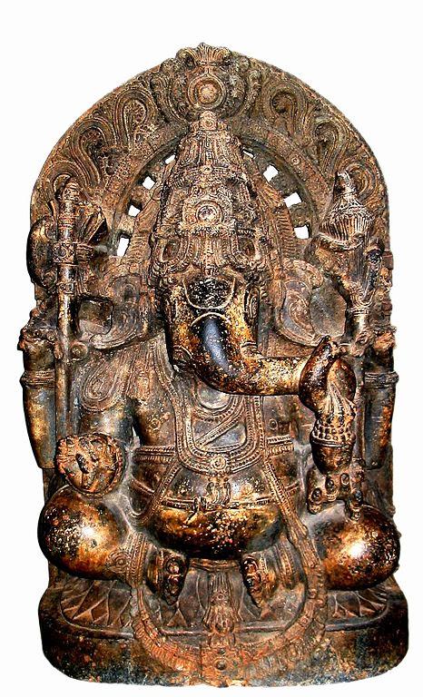 மைசூரில் உள்ள 13ம் நூற்றாண்டு விநாயகர் சிலை